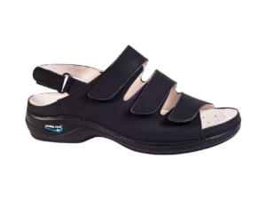 NURSING CARE sandal black
