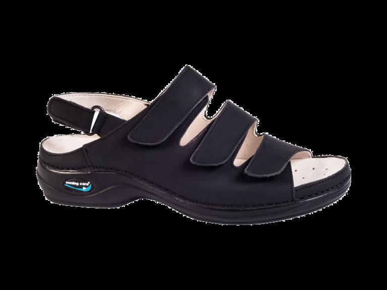 NURSING CARE sandal black
